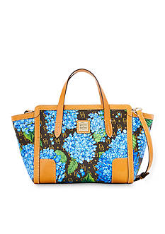 Dooney & Bourke Sign Hydrangea Sm E/W Shopper