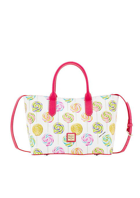 Dooney & Bourke Swirl Print Brielle Tote