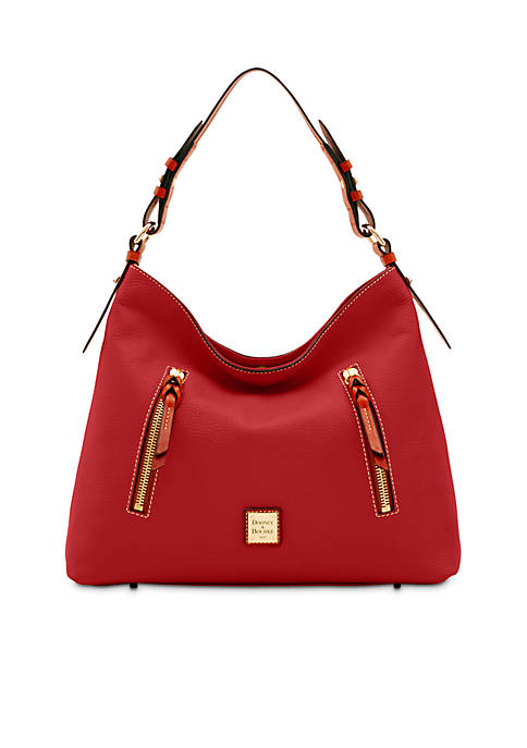 "Dooney & Bourke Pebble ""Cooper"" Hobo"