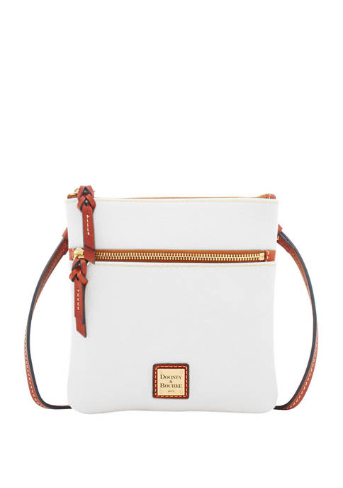 Dooney & Bourke Pebble Double Zip Crossbody