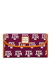 Texas A&M Clutch Wallet