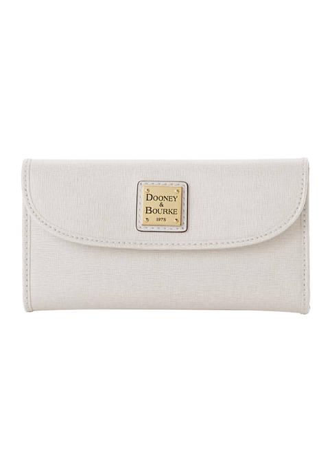 Dooney & Bourke Saffiano Leather Continental Clutch