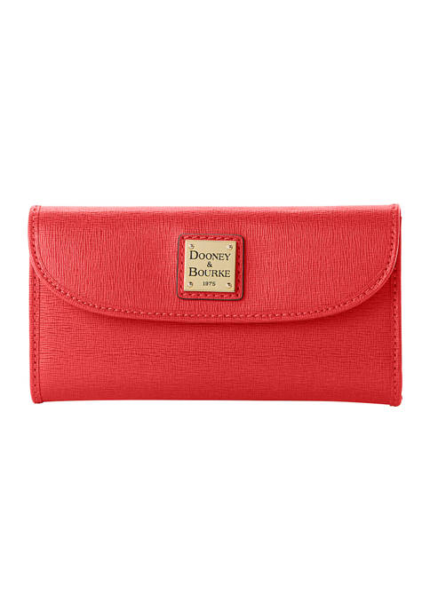 Dooney & Bourke Saffiano Leather Continental Clutch