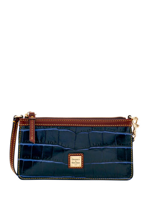 Dooney & Bourke Croco Large Slim Wristlet