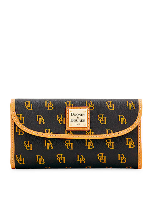 Dooney & Bourke Signature Continental Clutch