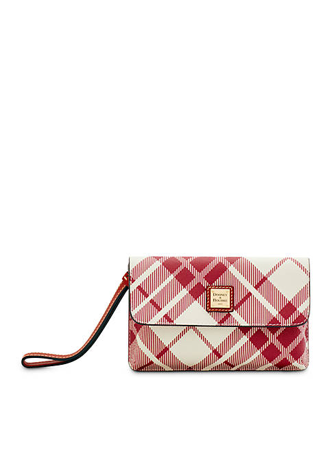 Dooney & Bourke Plaid Milly Wristlet