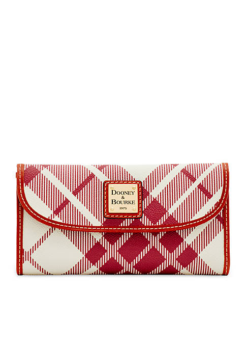 Dooney & Bourke Plaid Continental Clutch