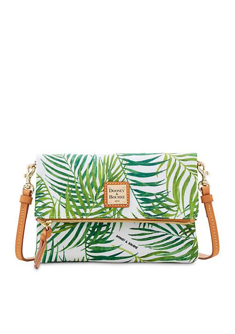 Dooney & Bourke Palm Print Nylon Crossbody