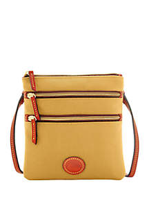 Dooney & Bourke Triple Zip Crossbody