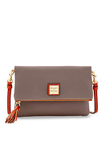 2a05661385a0 ... Dooney   Bourke Pebble Foldover Zip Crossbody