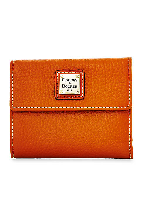Dooney & Bourke Pebble Small Flap Credit Card