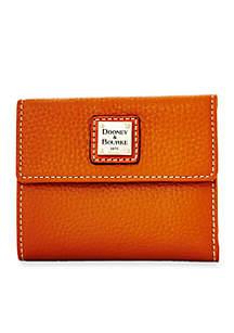 Pebble Small Flap Credit Card Wallet