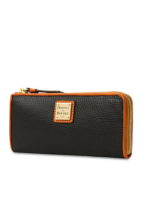 Dooney & Bourke Leather Zip Wallet