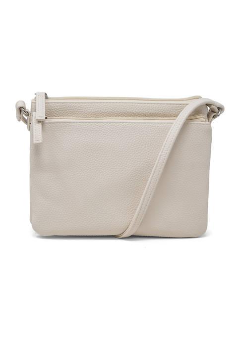 Mundi Double Zip Crossbody Bag