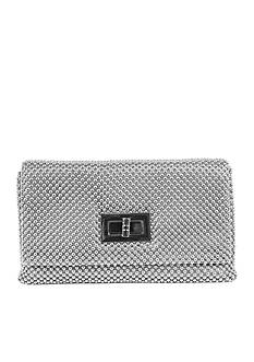 JESSICA MCCLINTOCK Ball Mesh With Turnlock Bag