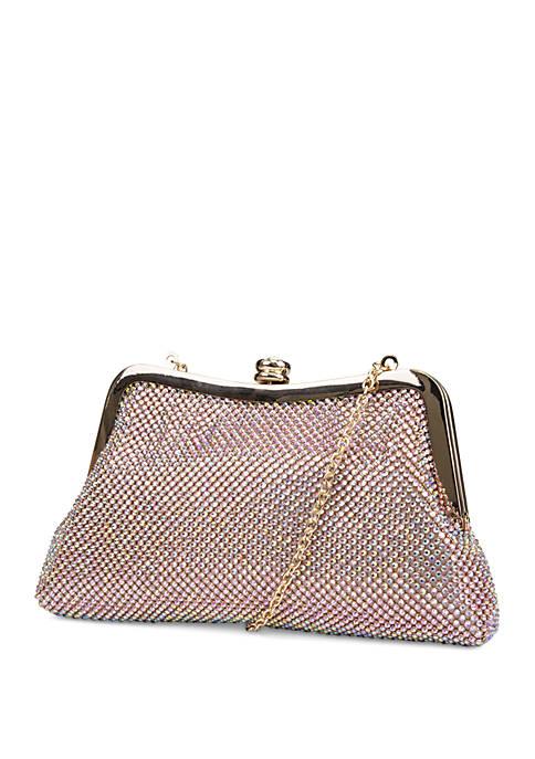 Mundi Diamond Mesh Elsie Frame Bag