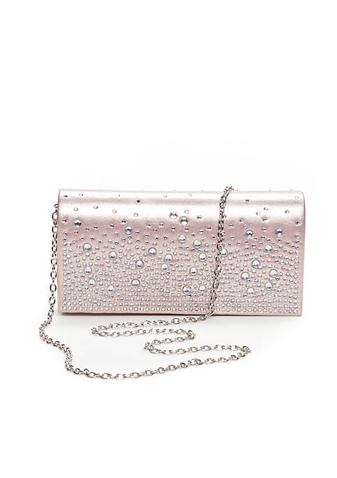 JESSICA MCCLINTOCK Chloe Sparkle And Shine Crossbody Clutch
