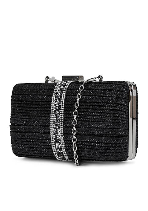 Noelle Sparkle and Shine Square Minaudiere