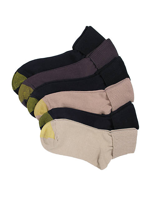 Gold Toe® Turn Cuff Socks