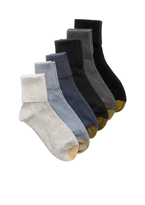 Gold Toe® Turn Cuff Socks