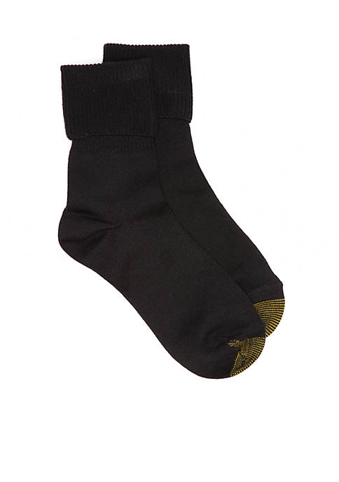 Gold Toe® Ultra Soft Providence Turn Cuff Socks