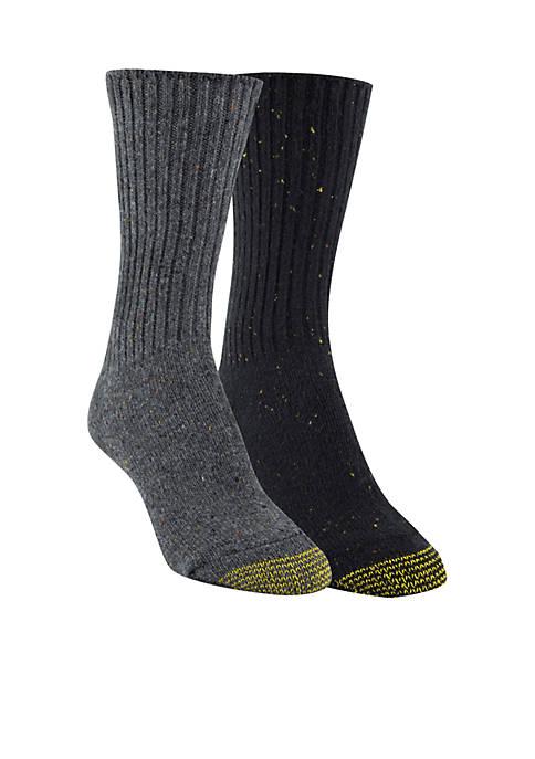 Gold Toe® Crossroads Boot Crew Socks