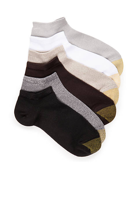 Gold Toe® Casual Ultra Soft Liner Socks