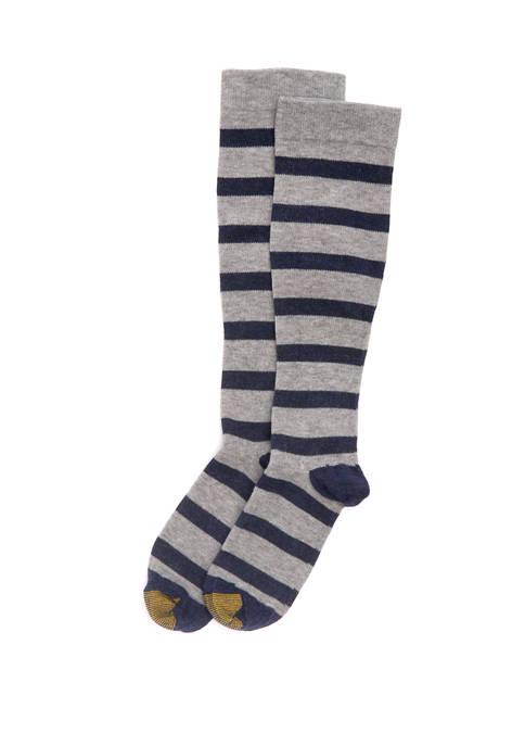 Simple Stripe Compression Socks