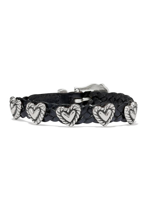 Roped Heart Braid Bandit Bracelet