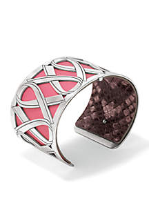 Power of the Pink 16 Christo Cuff