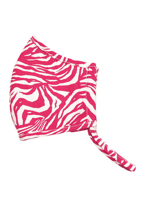 Brighton® Adult Z-Stripe Pink/White Mask