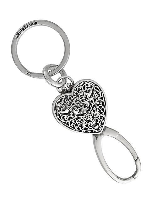 Charmer Heart Key Fob