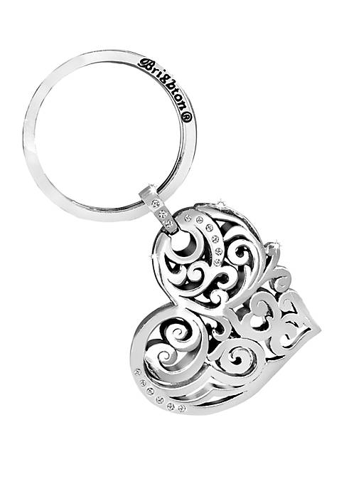 Brighton® Madrid Heart Key Fob