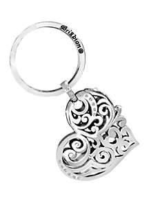 Brighton® Madrid Heart Key Fob