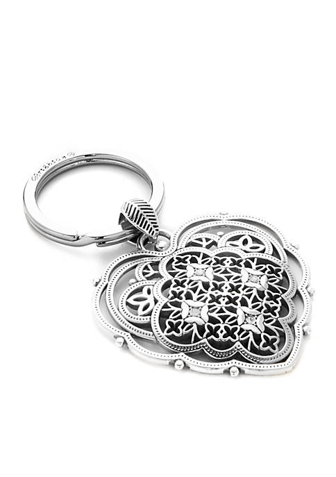 Brighton® Belle Roma Heart Key Fob