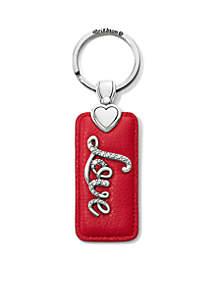 Love Script Key Fob
