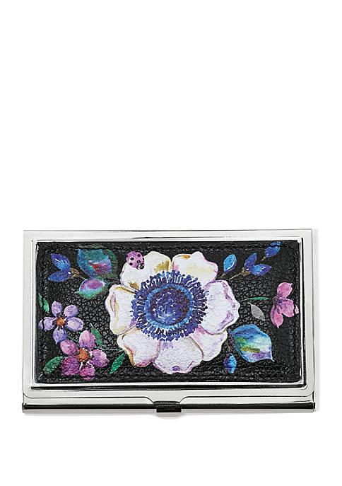 Brighton® Noir Jardin Card Case