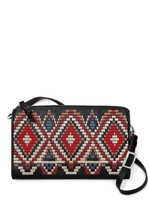 Brighton® Masai Embroidered Crossbody Bag