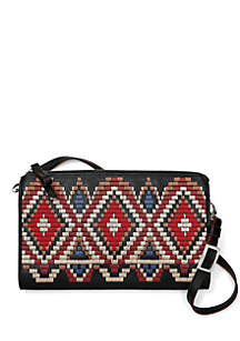 Masai Embroidered Crossbody Bag