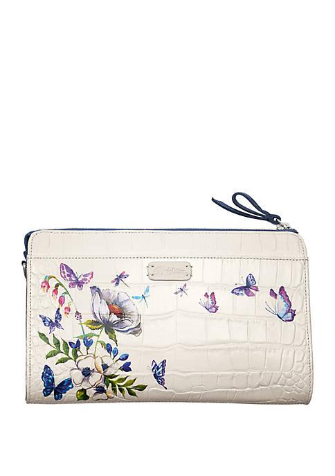 Blanc Jardin Crossbody Bag