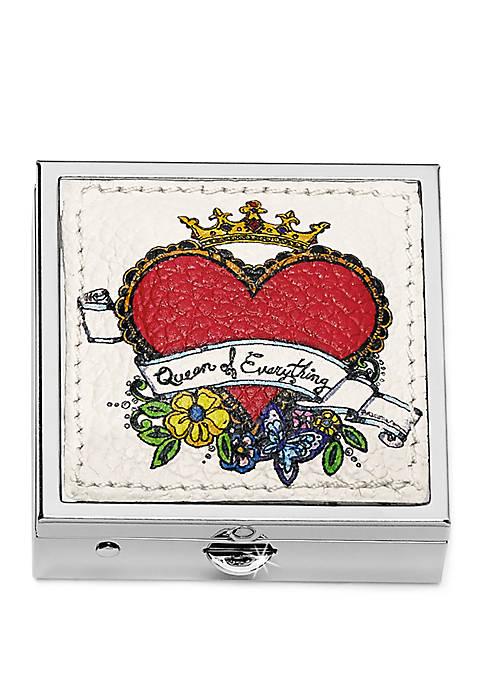 Brighton® Love Doodle Pill Box