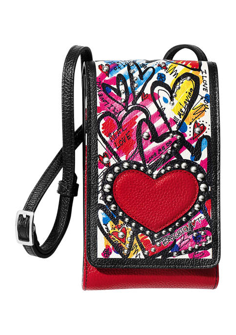 BRIGHTON The Art Of Love Phone Organizer