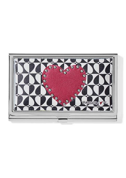 Brighton® Look Of Love Metal Card Case