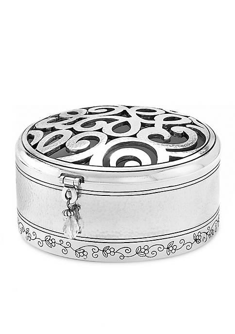 Skribbel Round Trinket Box