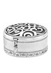 Brighton® Skribbel Round Trinket Box