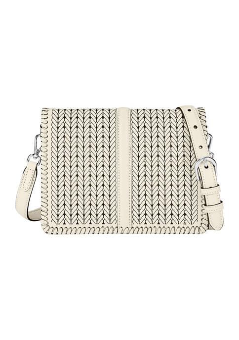 Odette Flap Baguette Bag