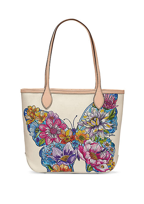 Brighton® Lily Embroidered Tote Bag