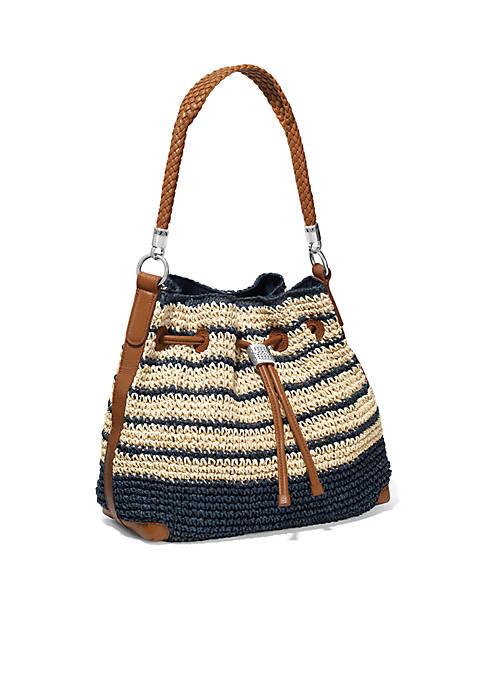 Brighton® Sierra Straw Hobo Bag
