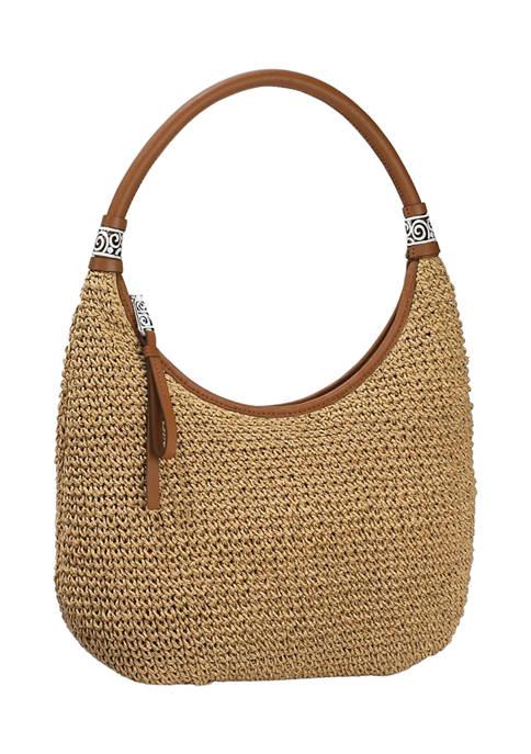 Shelby Straw Shoulder Bag