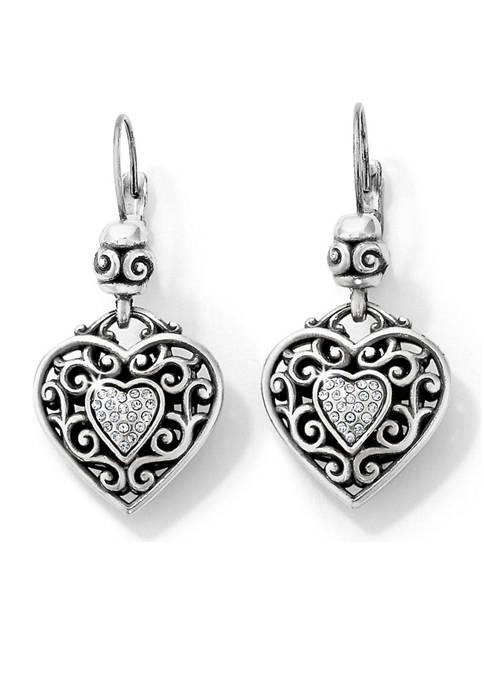 Brighton® Reno Heart Leverback Earrings